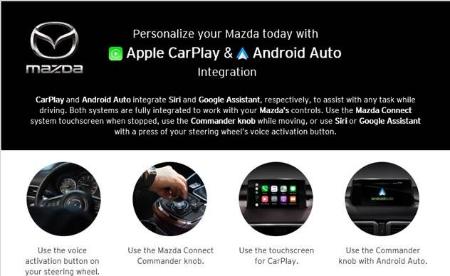 Apple Car Play or Android Auto Upgrade | Open Road Mazda of
